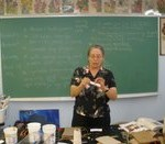 Susan Corl  - Paper Mache Demonstration