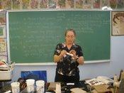 Susan Corl  - Paper Mache Demonstration